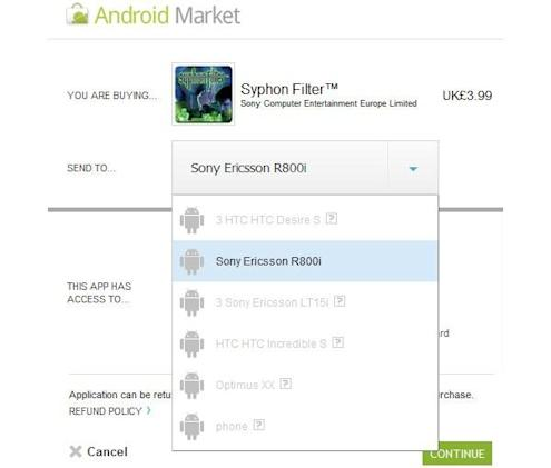 PlayStation One games appear in Android Market, predictably restricted to Xperia Play (update)