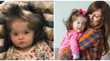 11-Month-Old Baby Has So Much Hair, She Gets a Daily Blowout