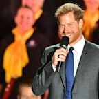 Prince Harry Rehearsed His Invictus Games Speech in Front of Just Meghan Markle — See the Pic!
