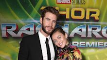 Miley Cyrus ends red carpet ban to accompany Liam Hemsworth to 'Thor: Ragnarok' premiere