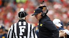 Officiating controversy? 'Bitter' Jim Harbaugh rails against refs after classic Michigan-Ohio State finish