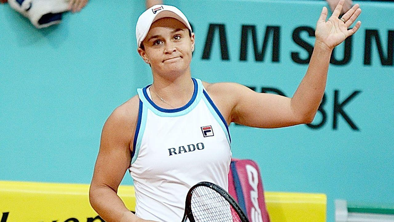 Question marks over Ash Barty's French Open hopes