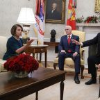 Trump Today: President clashes with Pelosi and Schumer over border wall and calls talks with China productive