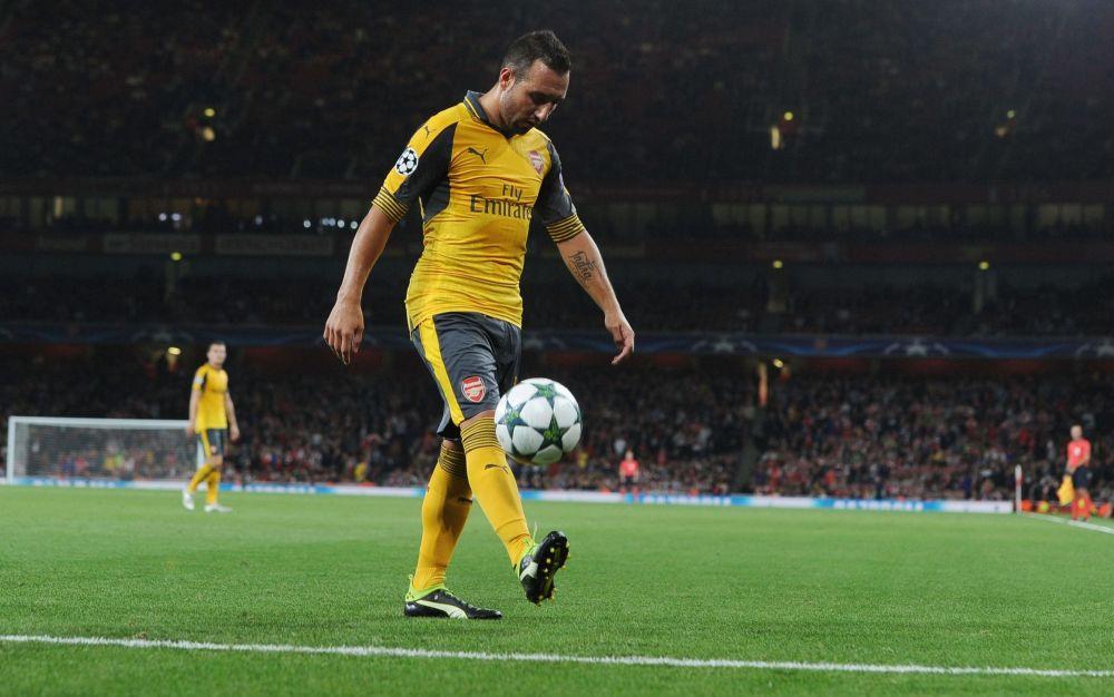 Santi Cazorla has not played since October - 2016 The Arsenal Football Club Plc