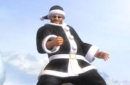 Dead or Alive 5 Santa DLC checks off both naughty and nice today