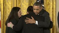 Newtown Shooting Victims Honored by President Obama