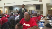 Health forum draws gives men wellness lessons; Dr. Courtney Hollowell says men downplay importance of health care