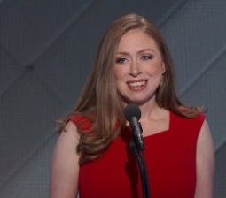 Poised Chelsea Clinton Praises Hillary: 'I'm So Grateful To Be Her Daughter'