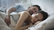 Couples that sleep together sleep better, study finds