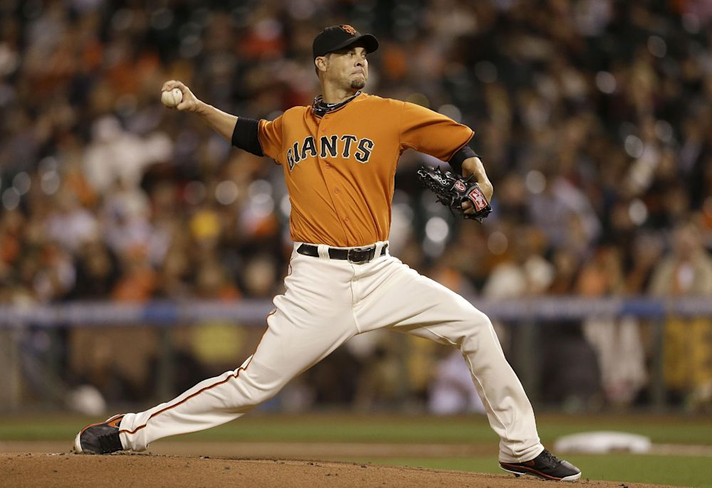 Vogelsong agrees to one-year contract with Giants