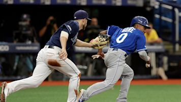 Rays catch 2 of MLB's fastest players in unusual double play against Royals