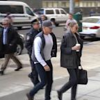 Gigi Hadid and Harvey Weinstein Arrive at NY Court