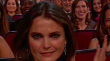 Keri Russell's Reaction to Matthew Rhys's Hilarious Emmys Speech Was Absolutely Priceless