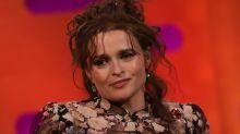 Helena Bonham Carter reveals royal sleepover at Windsor Castle