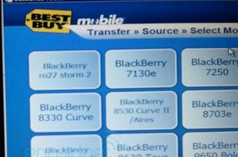 BlackBerry 9570 Storm3 still showing up in Best Buy system