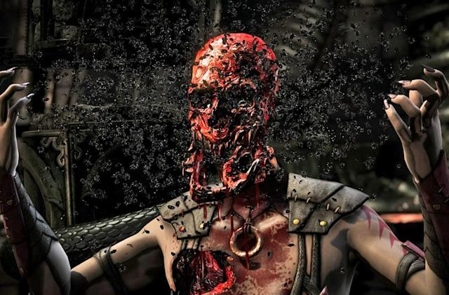 'Mortal Kombat X' and the comedy of violence
