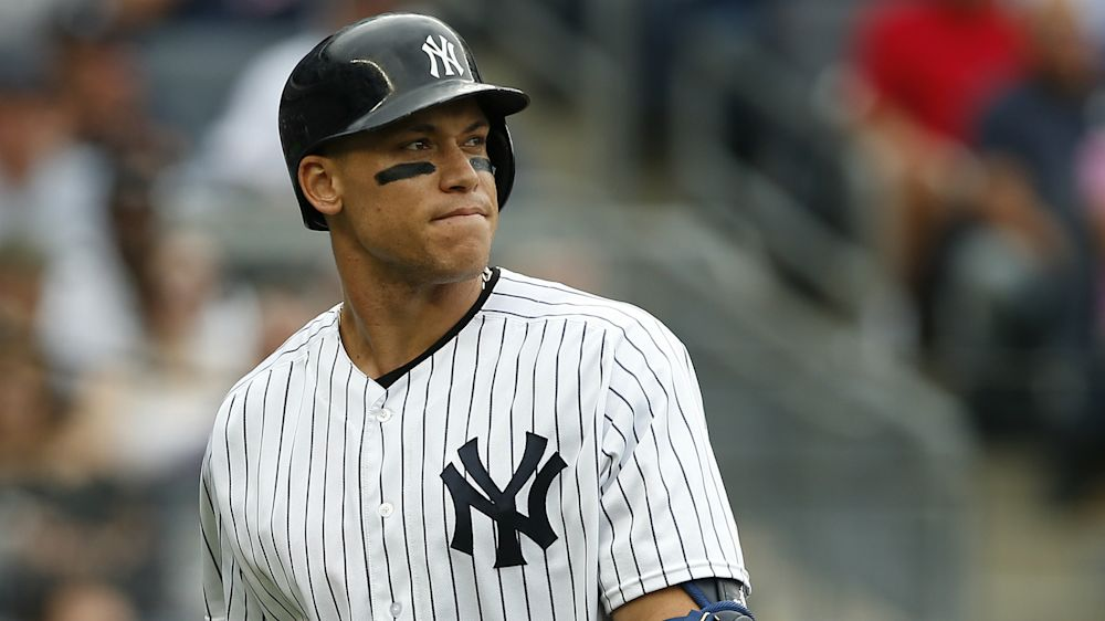 Girardi says Yankees star Judge isn't getting calls 'because he's so tall'