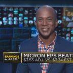 Micron jumps on earnings, revenue beat