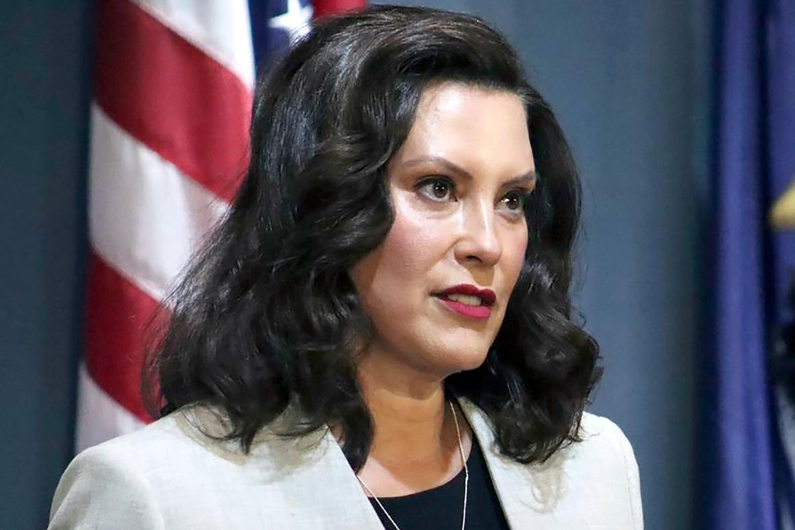 For Gretchen Whitmer, governing no matter the potential political fallout