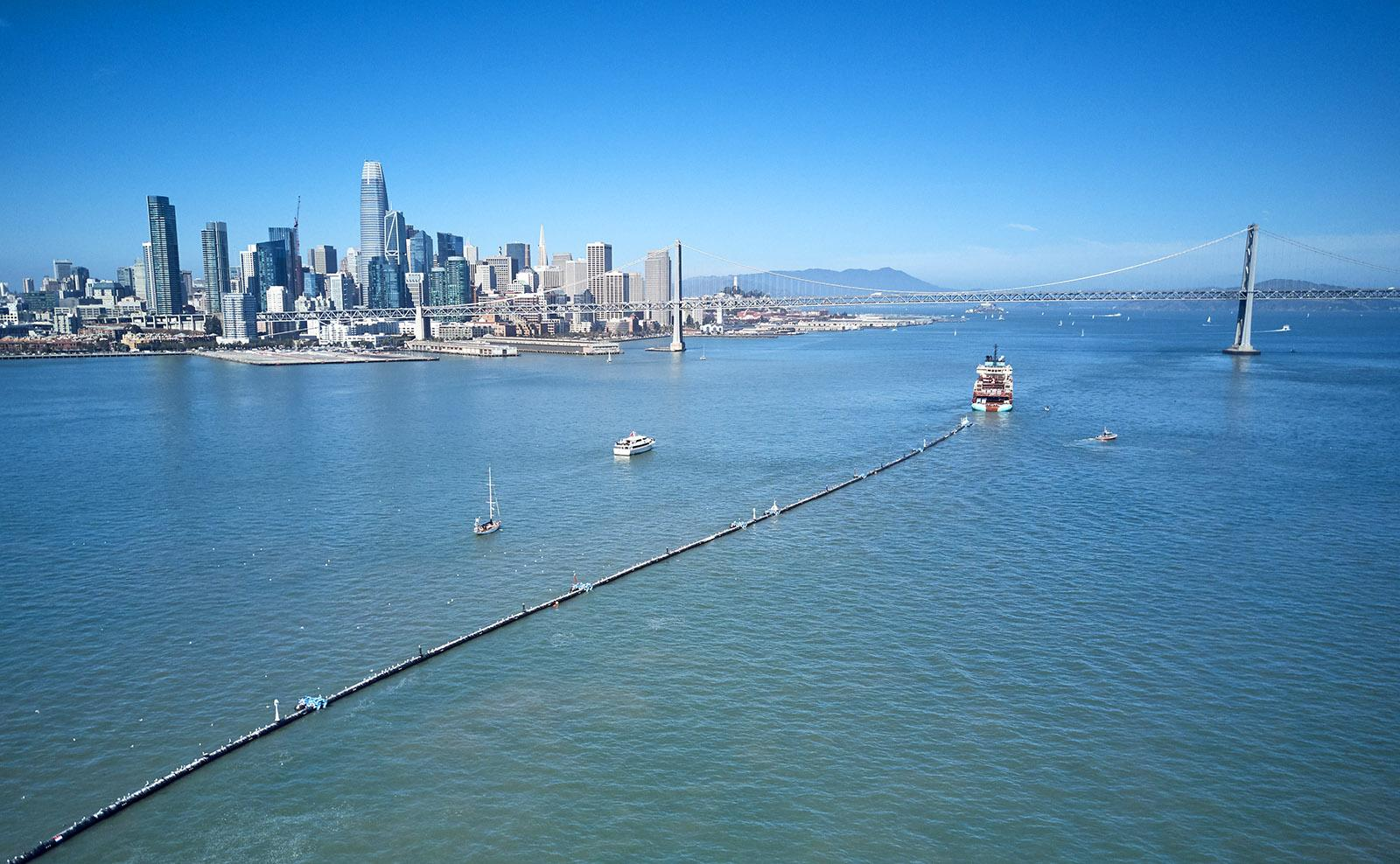An ambitious project to clean up the 88,000 tons of plastic floating in the