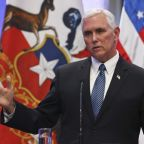 Pence Says He Stands With Trump in Aftermath of Charlottesville