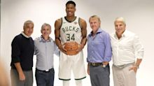 Report: Bucks tell Giannis Antetokounmpo they're willing to pay luxury tax