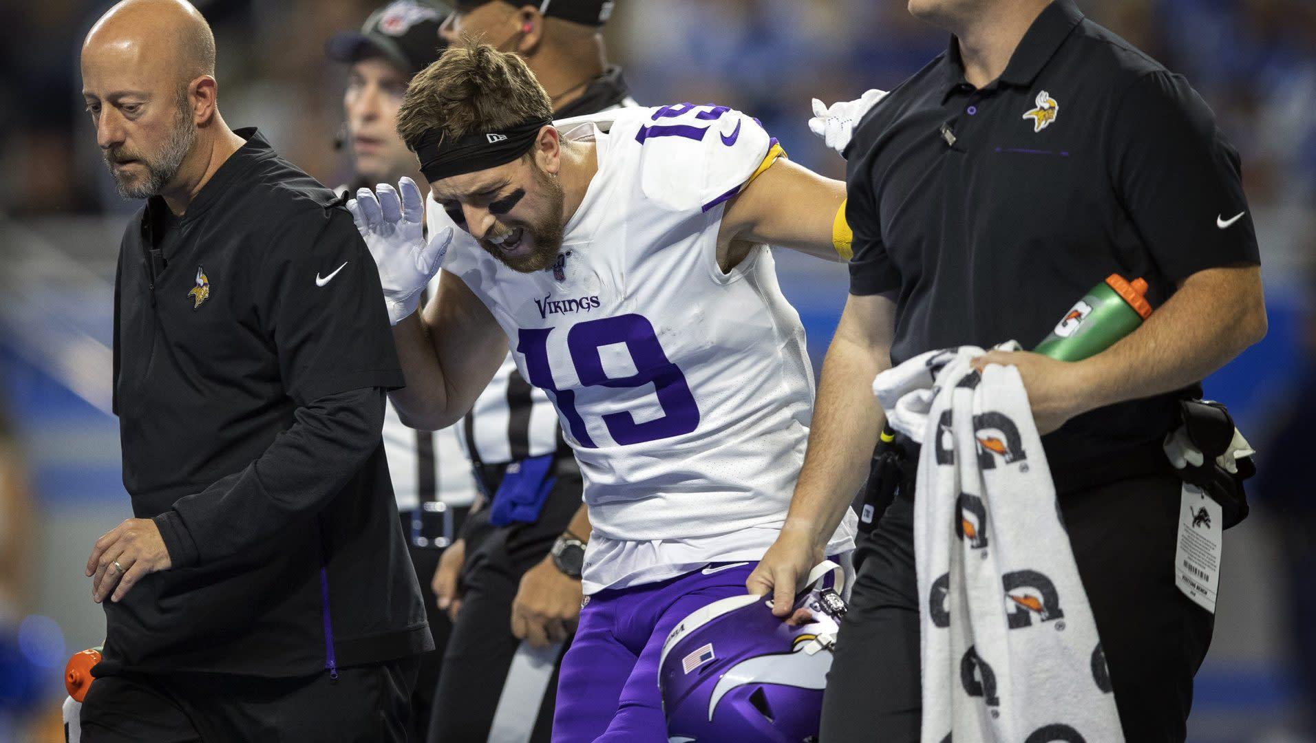 Vikings fear Adam Thielen is week-to-week with hamstring injury