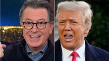 Stephen Colbert Explains How He's Been Quietly Trolling Trump Every Night For 5 Months