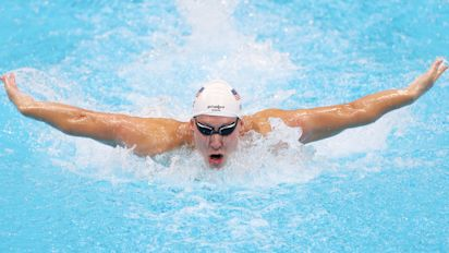 Swimmer wins Team USA's 1st gold medal in Tokyo