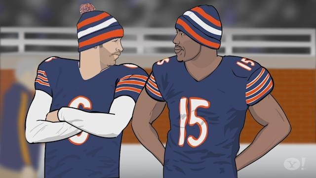 Sports Friends - Jay Cutler and Brandon Marshall