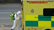 Britain has sufficient critical care, ventilator capacity: health minister