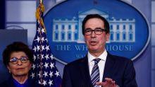 U.S. Treasury, Fed working on 'Main Street,' municipal loan facilities - Mnuchin