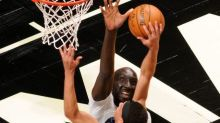 Watch Tacko Fall rack up four blocks in just over one minute