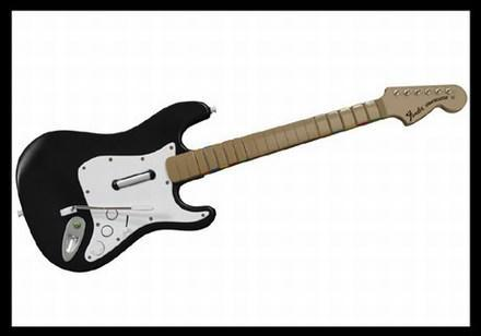 Rock Band Stratocaster controller revealed