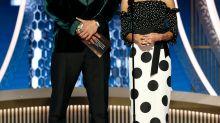 Zoë Kravitz Explains Why Stepdad Jason Momoa Rocked A Tank Top At Golden Globes