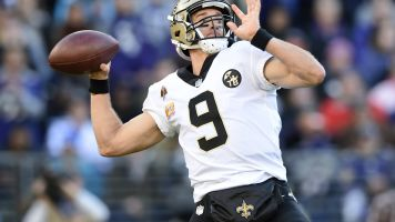 Brees throws 500th TD, only fourth QB in club