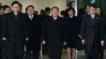 General norte-coreano e Ivanka Trump no encerramento das Olimpíadas de Inverno