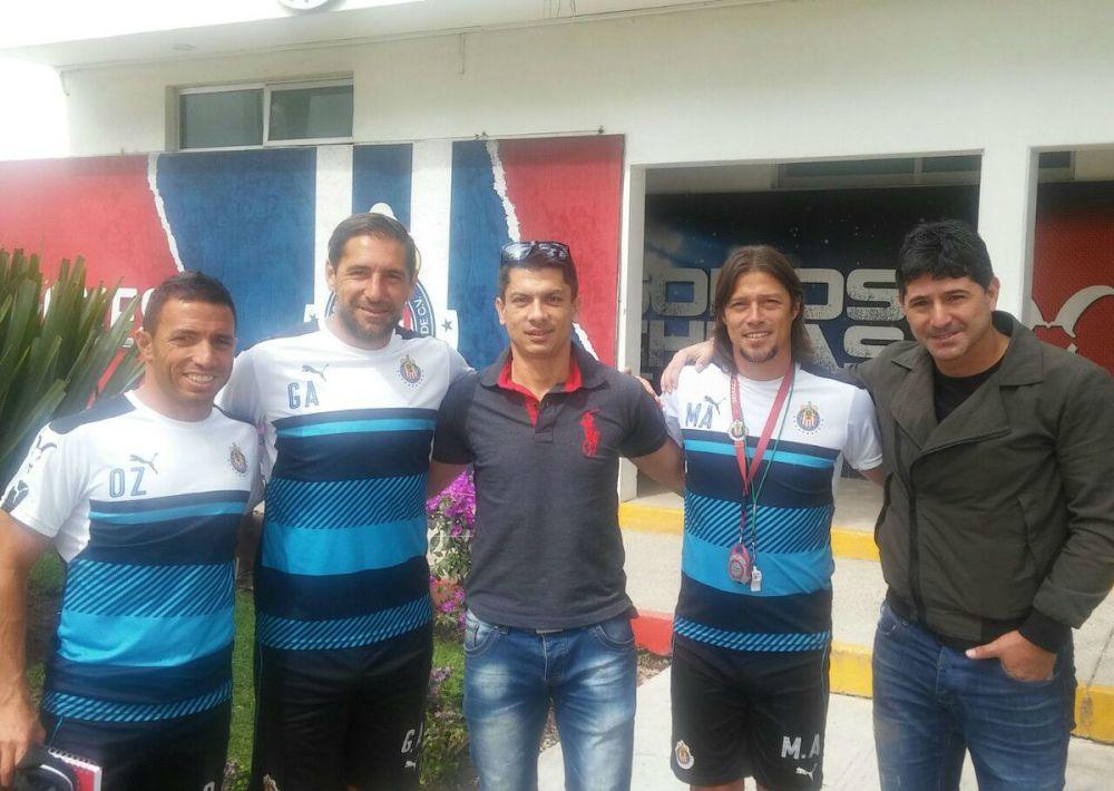 Florentín viajó a México para ver trabajar a La Volpe y Almeyda