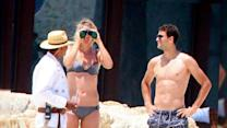 Maria Sharapova Vacations From Tennis in a Bikini