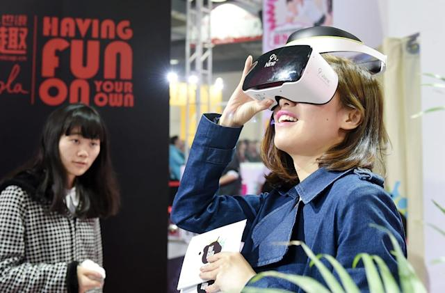 Alibaba gave online shoppers a VR celebrity date