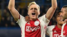 Barcelona & Man Utd-linked Van de Beek left out of Ajax squad amid transfer 'developments'