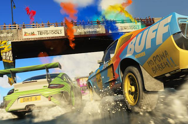 EA now owns Codemasters and its many, many racing games