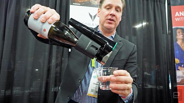 Coravin's smart wine opener doesn't remove the cork