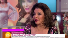 Dame Joan Collins complains she can't make jokes due to 'political correctness'