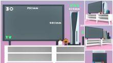 日本插畫家PS5模擬圖      呎吋參考有Switch有PS4