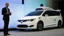 Intel chips loaded in Waymo self-driving minivans