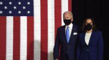 """Biden présente Kamala Harris, la """"bonne personne"""" pour l'aider à """"reconstruire le pays"""""""