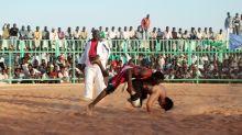Sudanese wrestlers embrace afresh after protest crackdown
