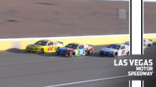 Joey Logano, Kyle Busch have early run-in at Las Vegas