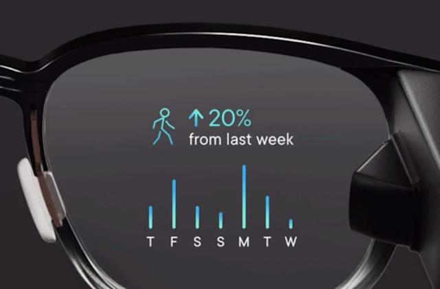 Focals smart glasses put Google Fit data on your face